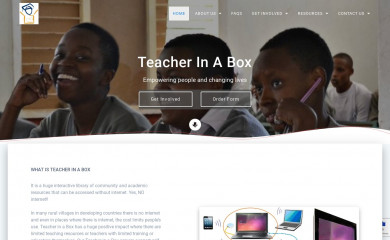 teacherinabox.org.au screenshot