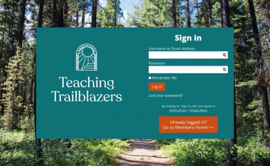 teachingtrailblazers.com screenshot