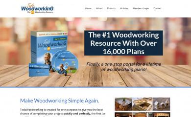 tedswoodworking.com screenshot