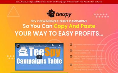 teespy.com screenshot