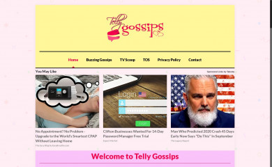 tellygossips.net screenshot