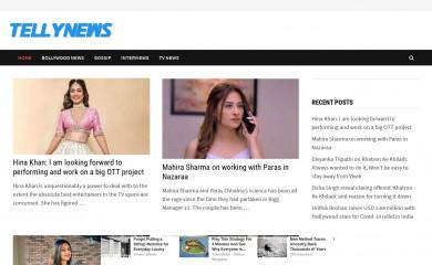 tellynewsarticles.com screenshot