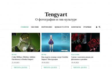 tengyart.ru screenshot