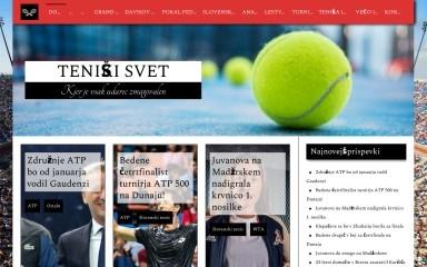 teniskisvet.si screenshot