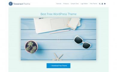 http://tesseracttheme.com/ screenshot
