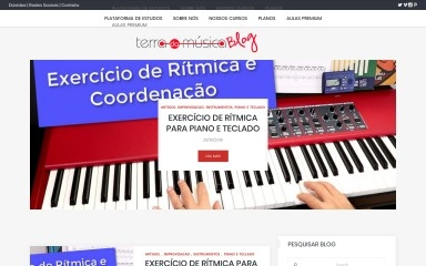terradamusicablog.com.br screenshot