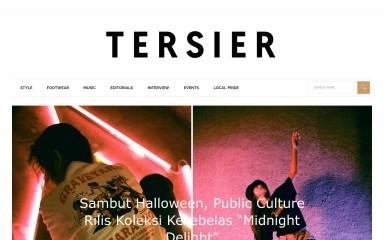 http://tersier.id screenshot