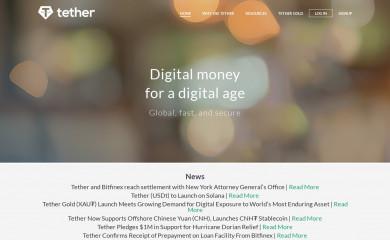 tether.to screenshot