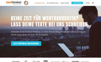 textbroker.de screenshot