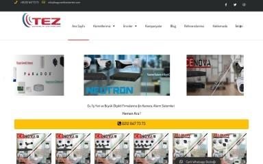 http://tezguvenliksistemleri.com screenshot
