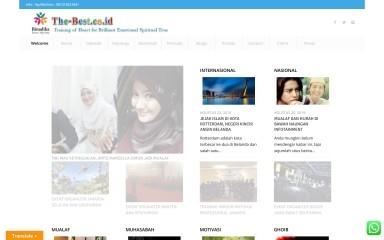 the-best.co.id screenshot