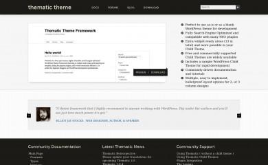 http://thematictheme.com screenshot