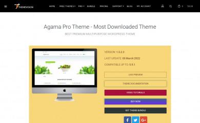 http://theme-vision.com/agama-pro/ screenshot