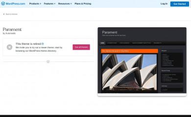 Parament screenshot