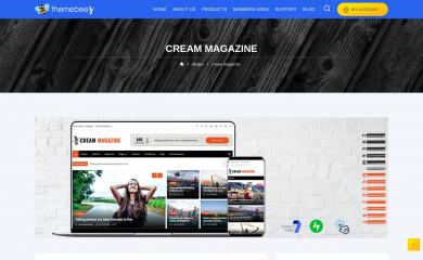 https://themebeez.com/themes/cream-magazine/ screenshot