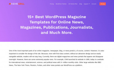 http://themegrill.com/themes/colormag-pro/ screenshot