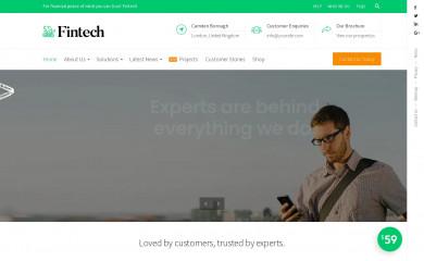 Fintech screenshot