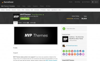 http://themeforest.net/user/mvpthemes screenshot
