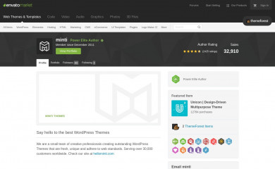 http://themeforest.net/user/minti screenshot