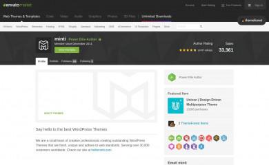 http://themeforest.net/user/minti screenshot