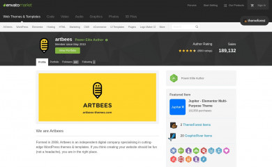 http://themeforest.net/user/artbees screenshot