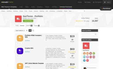 https://themeforest.net/user/seatheme/portfolio screenshot