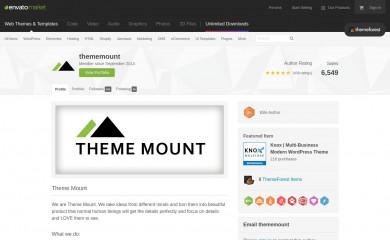 http://themeforest.net/user/thememount screenshot