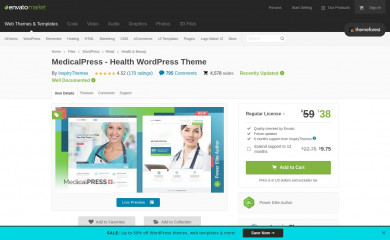 http://themeforest.net/item/medicalpress-health-and-medical-wordpress-theme/7789703 screenshot