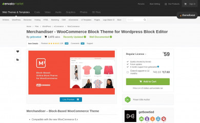 https://themeforest.net/item/merchandiser-ecommerce-wordpress-theme-for-woocommerce/15791151 screenshot
