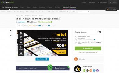 http://themeforest.net/item/mist-advanced-multiconcept-theme/12023626 screenshot