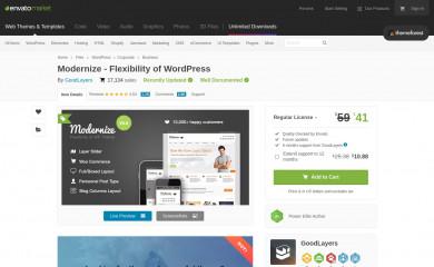 https://themeforest.net/item/modernize-flexibility-of-wordpress/1264247 screenshot