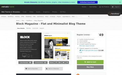 BlockMagazine screenshot