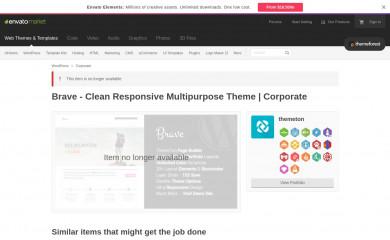 http://themeforest.net/item/brave-clean-responsive-multipurpose-theme/5119897?ref=themeton screenshot