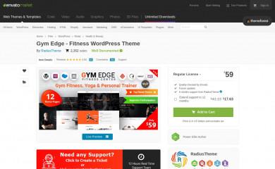 https://themeforest.net/item/gymedge-gym-fitness-wordpress-theme/19339465 screenshot