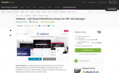 Jobhunt screenshot