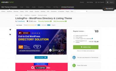 https://themeforest.net/item/listingpro-multipurpose-directory-theme/19386460 screenshot