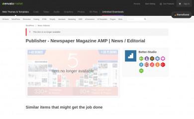 Publisher Child Theme screenshot