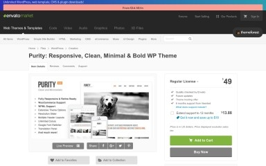http://themeforest.net/item/purity-responsive-clean-minimal-bold-wp-theme/639774 screenshot