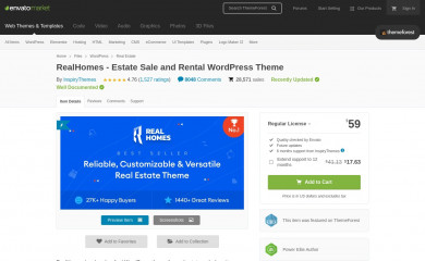 RealHomes | Shared By Themes24x7.com screenshot