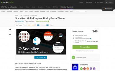 http://themeforest.net/item/socialize-multipurpose-buddypress-theme/12897637 screenshot