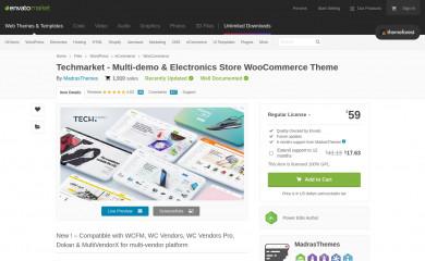 Techmarket screenshot