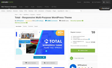 https://themeforest.net/item/total-responsive-multipurpose-wordpress-theme/6339019 screenshot