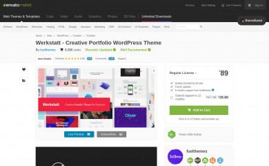https://themeforest.net/item/werkstatt-creative-portfolio-theme/17870799 screenshot