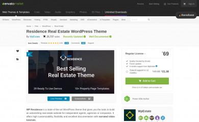 https://themeforest.net/item/wp-residence-real-estate-wordpress-theme/7896392 screenshot