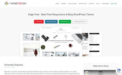 https://themefreesia.com/themes/edge screenshot
