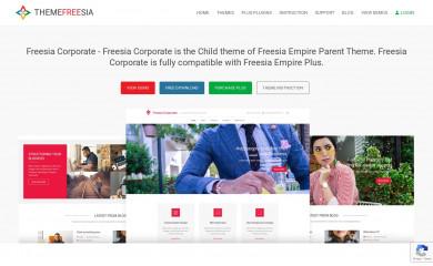 Freesia Corporate screenshot
