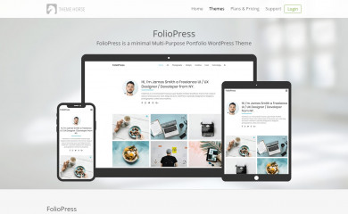FolioPress screenshot