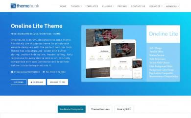 https://www.themehunk.com/product/oneline-lite-theme/ screenshot
