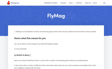 FlyMag screenshot