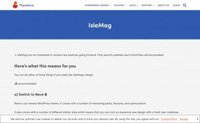 IsleMag screenshot